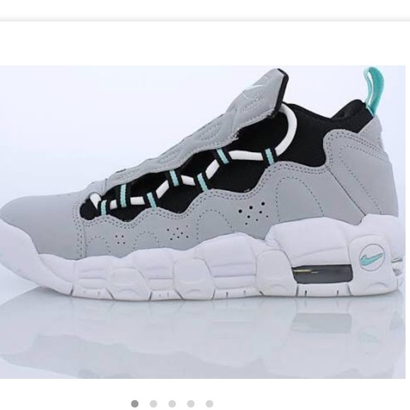 3c832805a Nike Air More Money Kids Wolf Grey New in Box